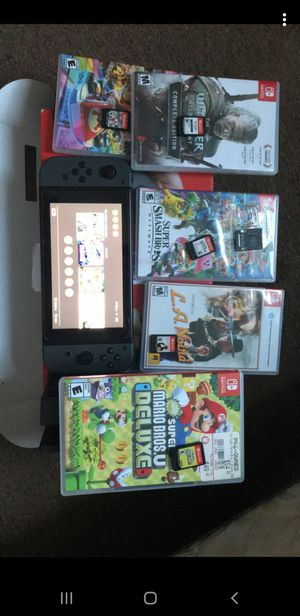 Nintendo switch w games for Sale in Chicago, IL