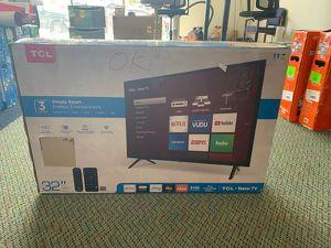 "Brand New TCL ROKU TV 32"" open box w/ warranty E8 for Sale in Buena Park, CA"