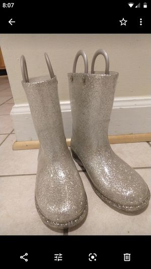 Western Chief Glitter Rainboots for Sale in Arlington, VA