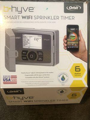 B-hyve Wifi sprinkler timer for Sale in Herriman, UT