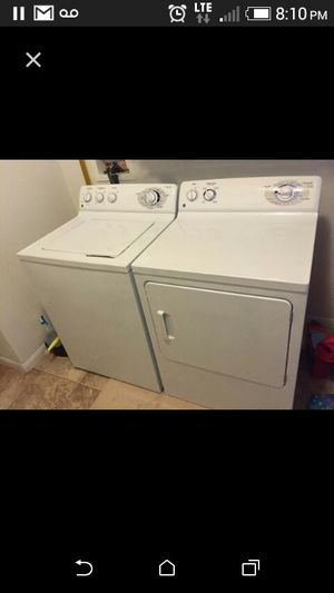GE washer and dryer for Sale in Las Vegas, NV