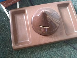 Vintage bank and candy dish for Sale in PA, US