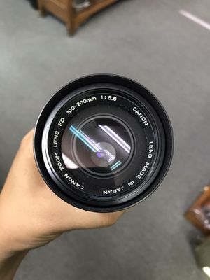 Canon Camera Lens for Sale in Bakersfield, CA