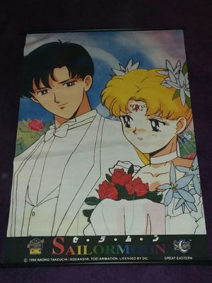 Sailor Moon cloth poster for Sale in Louisville, CO