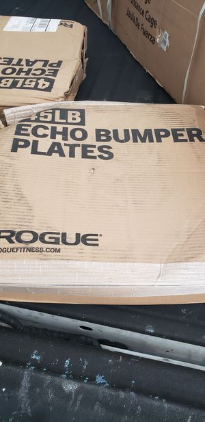 Rogue Bumper Plates 45 pounds for Sale in Tampa, FL