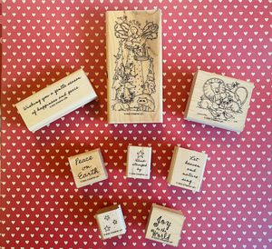 Retired Stampin up! Christmas Stamps 8pc for Sale in Elizabethton, TN