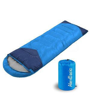 AlexBasic Camping Sleeping Bags for 4 Season, Lightweight Waterproof for Adults & Kids, Traveling, Hiking, 86.6in x 29.5in for Sale in Whittier, CA