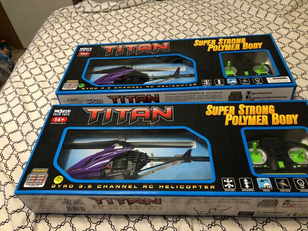 Titan gyro 3.5 channel RC helicopters