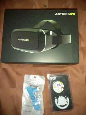 Astoria vr, mini USB fan, popi for Sale in San Bernardino, CA
