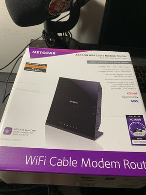 NETGEAR AC1600 Dual Band Smart WiFi Router for Sale in Port St. Lucie, FL