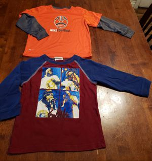 shirts long sleeve size 4T $6 for both for Sale in Commerce, CA