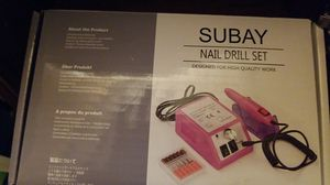 Subay Nail Drill Set for Sale for sale  Bronx, NY