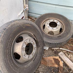 Chevy Silverado 3500HD Dually Wheels for Sale in Houston, TX