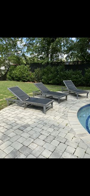 Outdoor Chaise Lounges for Sale in Washington, DC