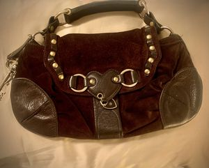 **Rare** Juicy Couture suede and leather bag in excellent condition for Sale in Scottsdale, AZ