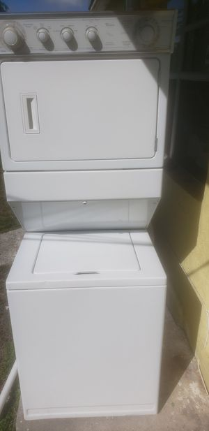 Whirlpool stackable washer and dryer for Sale in Delray Beach, FL