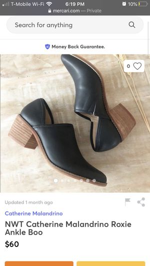 Catherine malandrino ankle boots for Sale in Irvine, CA