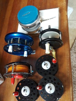 Fishing vintage fly reels for Sale in Vancouver, WA