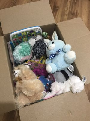 Variety box of toys for Sale in Boyce, LA