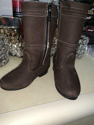 Baby girl cowboy boots (botas escaramuza) for Sale in Aurora, CO