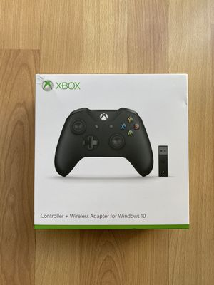 Microsoft Xbox One Wireless Controller (Black) - Open Box for Sale in Lake Forest, CA
