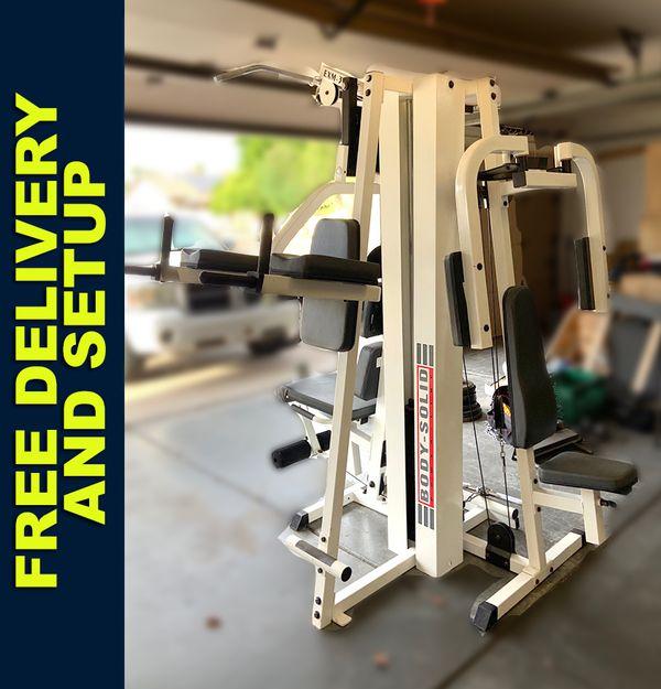 Body Solid gym EXM 3600
