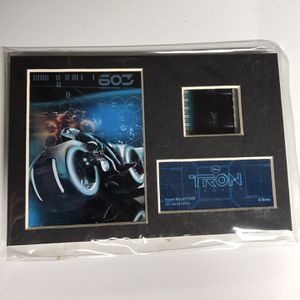 Disney Tron Legacy The Grid Original Minicell Film Cell Series 3 Special Edition Trend Setters Ltd COA for Sale in La Crescenta-Montrose, CA