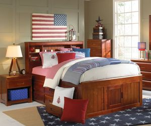 New Full Bed with Twin Trundle and Storage for Sale in Austin, TX