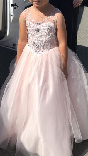 Pink flower girl dress for Sale in Richmond, CA