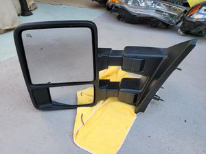 Ford f250 f350 2011 2012 2013 2014 2015 2016 left mirror for Sale in Lawndale, CA