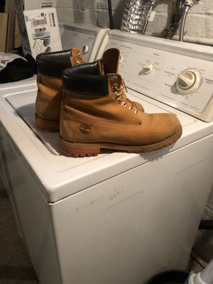 Work Boots Timberlands 10 1/2 Orange Sole for Sale in Mayfield Heights, OH