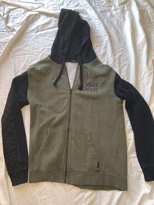 Men's Vans zip up Hoodie Jacket for Sale in Yuba City, CA