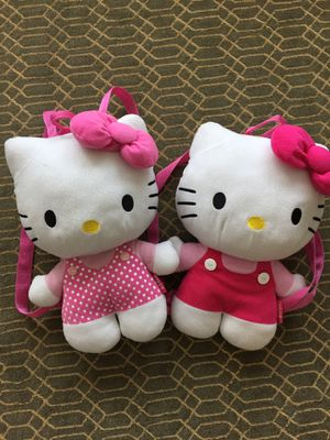Hello Kitty plush backpack for Sale in Montebello, CA