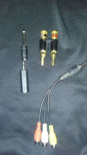 Extensoions and adapters for instrument cabke for Sale in Nederland, TX