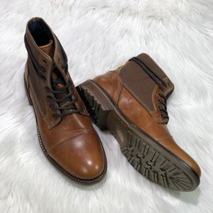 Men's boots Aldo brand new size 8 men's brown high top for Sale in Whittier, CA