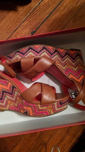 American Eagle Size 7 Multi color Wedges for Sale in South Norfolk, VA