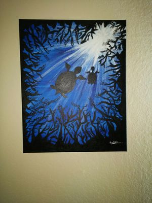 Painting Turtle Sea Life for Sale in Tampa, FL
