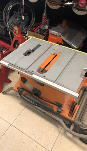 Ridged Table Saw R45101 for Sale in Hollywood, FL