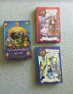Ever after high hardcover books for Sale in Grand Rapids, MI