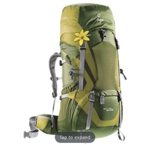 Deuter Backpacking Hiking Backpack for Sale in Fresno, CA