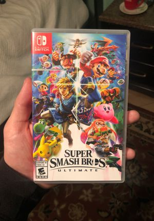 Nintendo Switch Super Smash Bros Ultimate for Sale in Santa Ana, CA