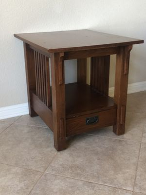 Rectangular end table for Sale in Austin, TX