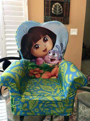 Dora The Explorer & Boots Foam Kids Chair . for Sale in Round Hill, VA
