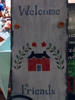 Welcome Home Slate for Sale in Crewe,  VA