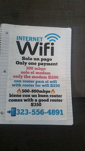 I49494 Router wifi in excellent condition like new for Sale in Los Angeles, CA