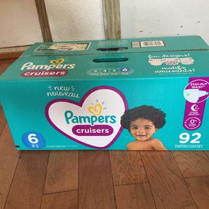 Pampers Cruisers SIZE 6 92 pañales for Sale in Compton, CA