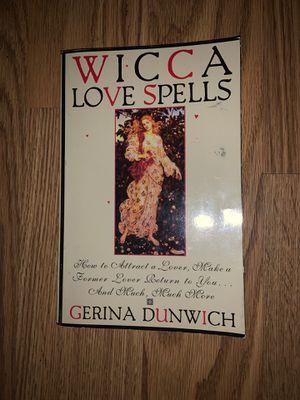 Wicca Love Spells Book for Sale in Riverside, CA
