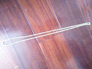10k yellow gold rope chain for Sale in Long Beach, CA