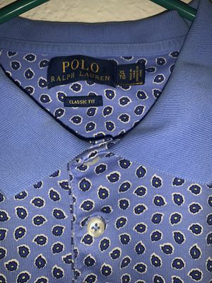 Polo Ralph Lauren blue design shirt for Sale in Ontario, CA