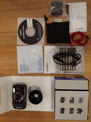 Olympus TG-3 Waterproof 16 MP Digital Camera kit for Sale in Chatsworth, CA